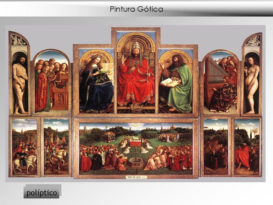 Pintura Gótica políptico