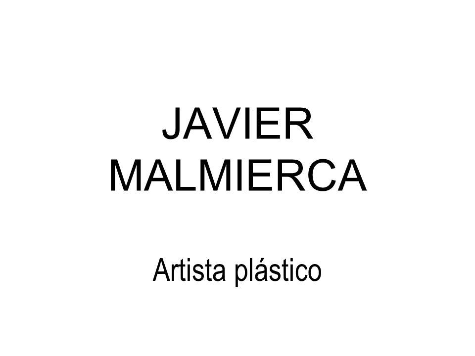 JAVIER MALMIERCA Artista plástico