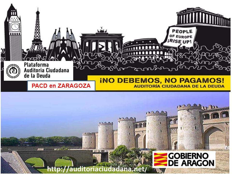 PACD en ZARAGOZA http://auditoriaciudadana.net /