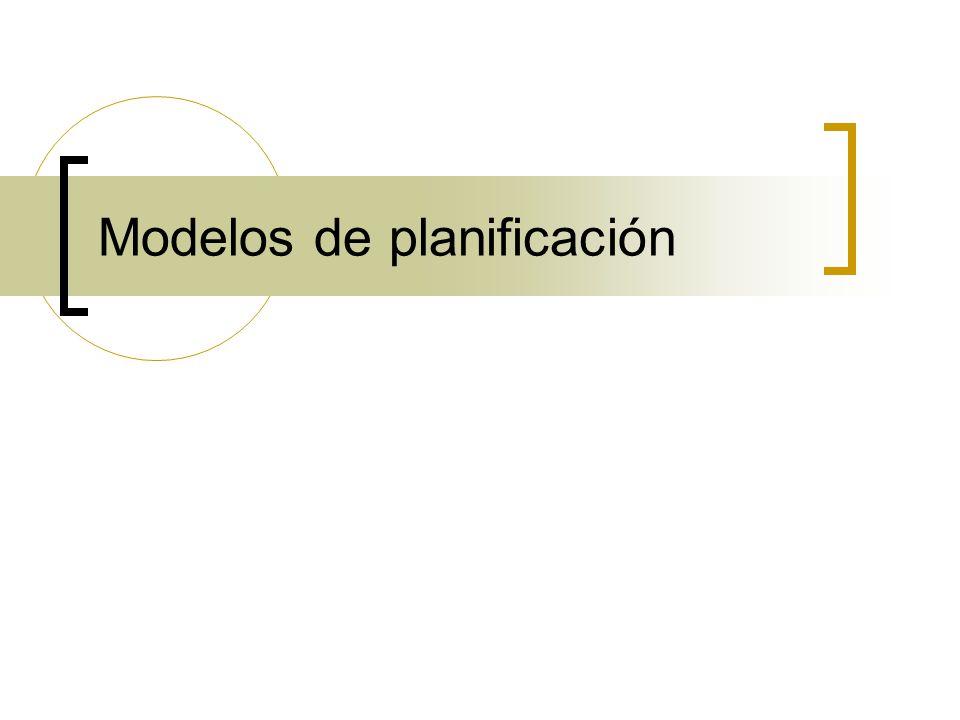 Planificación tradicional Tecnocrática: Técnicos que saben de las prioridades sociales, las necesidades objetivas, las mejores soluciones y las estrategias a aplicar para implementarlas.