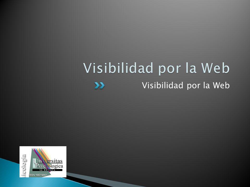 Visibilidad por la Web