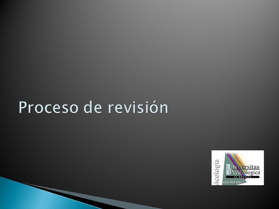 Proceso de revisión