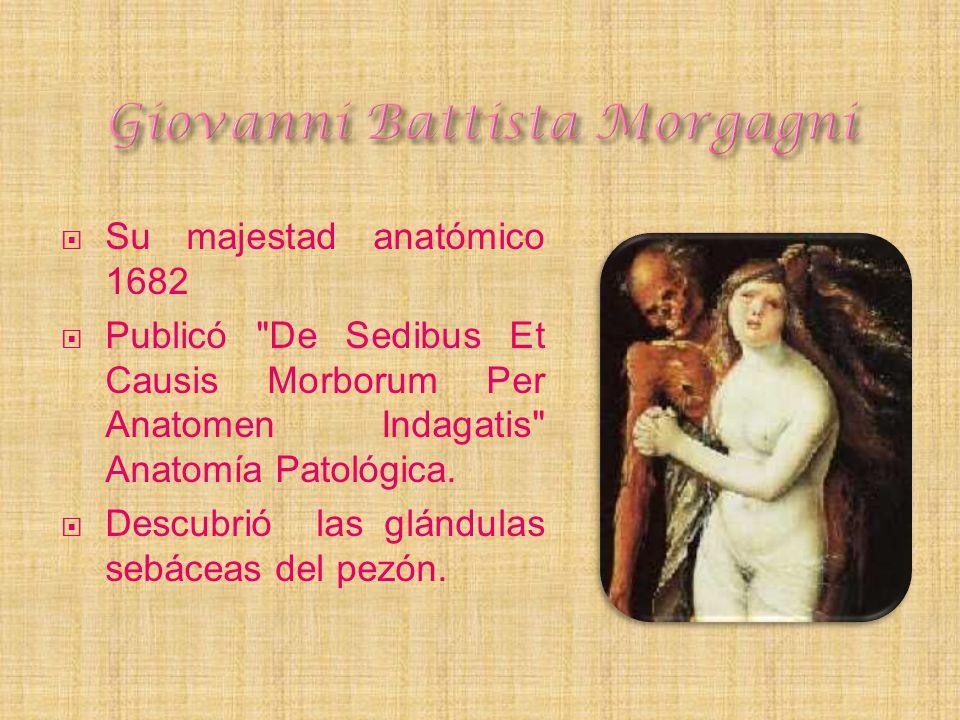 Su majestad anatómico 1682 Publicó