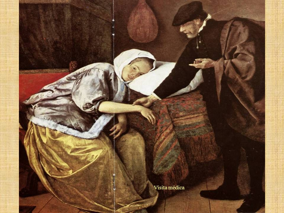 La enferma –Jean Steen. Visita médica