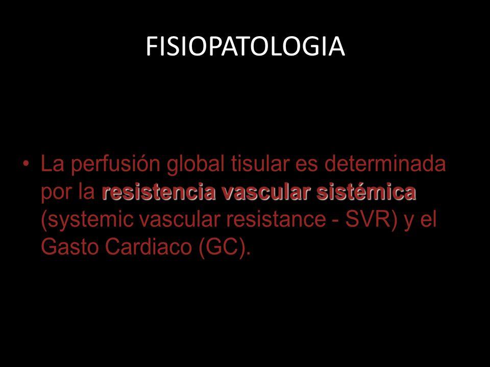 SHOCK DISTRIBUTIVO O NORMOVOLEMICO El tono vascular se pierde debido a dos razones importantes: 1.Disminución del control simpático del tono vasomotor 2.Presencia de sustancias vasodilatadoras en la sangre