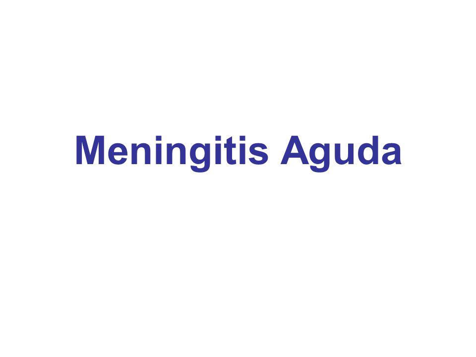 Meningitis Aguda