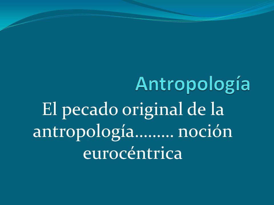 Antropología La palabra antropología es de origen griego y significa estudio del hombre o ciencia del hombre.