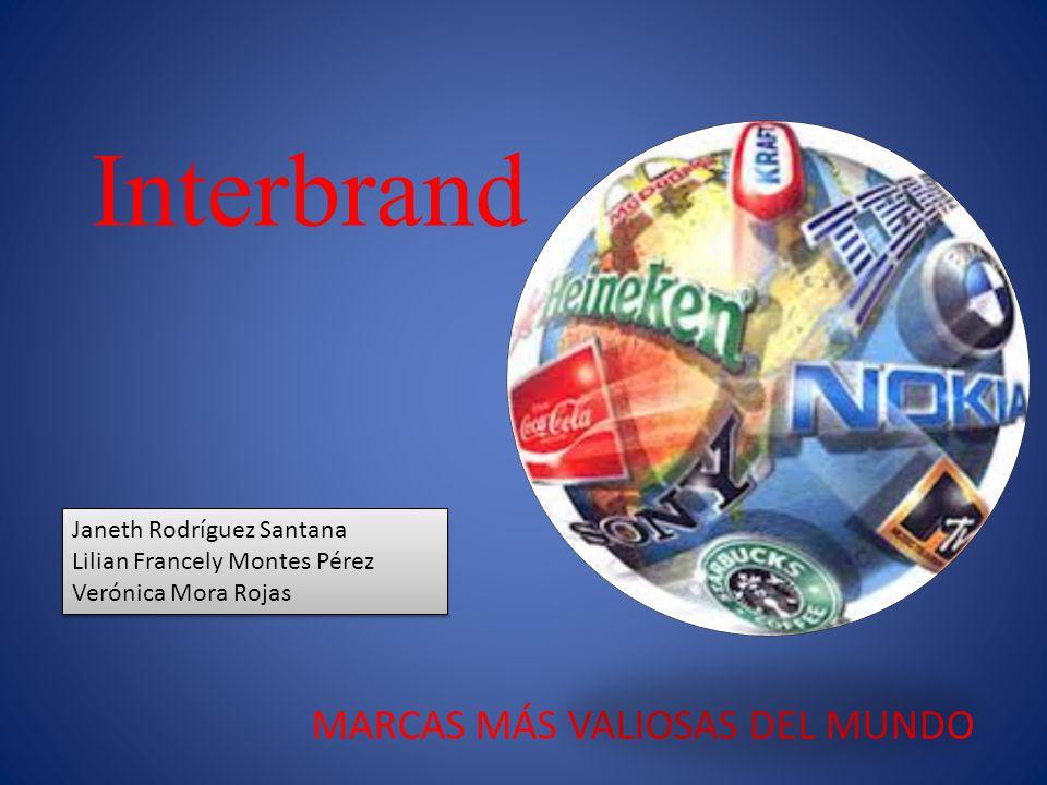 La firma Interbrand, fue fundada en 1974 cuando el mundo todavía pensaba en marcas como simplemente otra palabra para el logo.