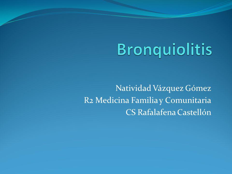 Tratamiento en UPED Medidas de soporte +/- Corticoides + Prueba terapéutica con broncodilatadores: Salbutamol nebulizado o inhalado (en cámara) + Observar alimentación y clínica Neb: Ventolin 0.03cc/kg +SSF hasta 3cc INH: Aerochamber o babyhaler: 1-2-3 puff Ventolin(100 mcg7puff) CO: prednisolona 2mg/kg(Estilsona 1ml: 7mg, 6 gotas:1mg) Dexametasona oral 0.15mg/kg o im 0.3-0.6 mg/kg)