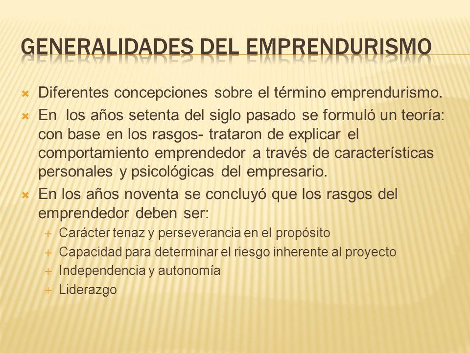 Un emprendedor es una persona que enfrenta, con resolución, acciones difíciles.