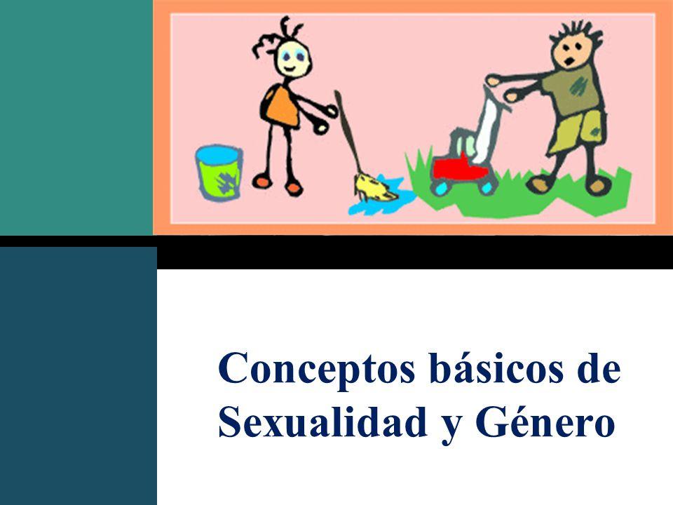 Conceptos básicos de Sexualidad y Género