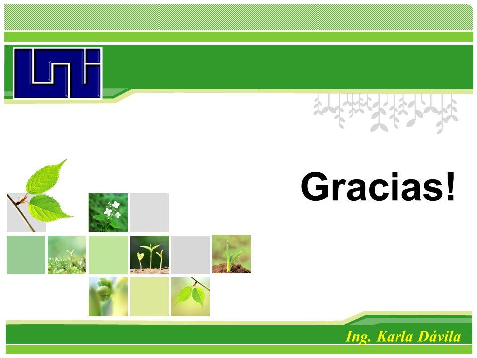 L/O/G/O Gracias! Ing. Karla Dávila