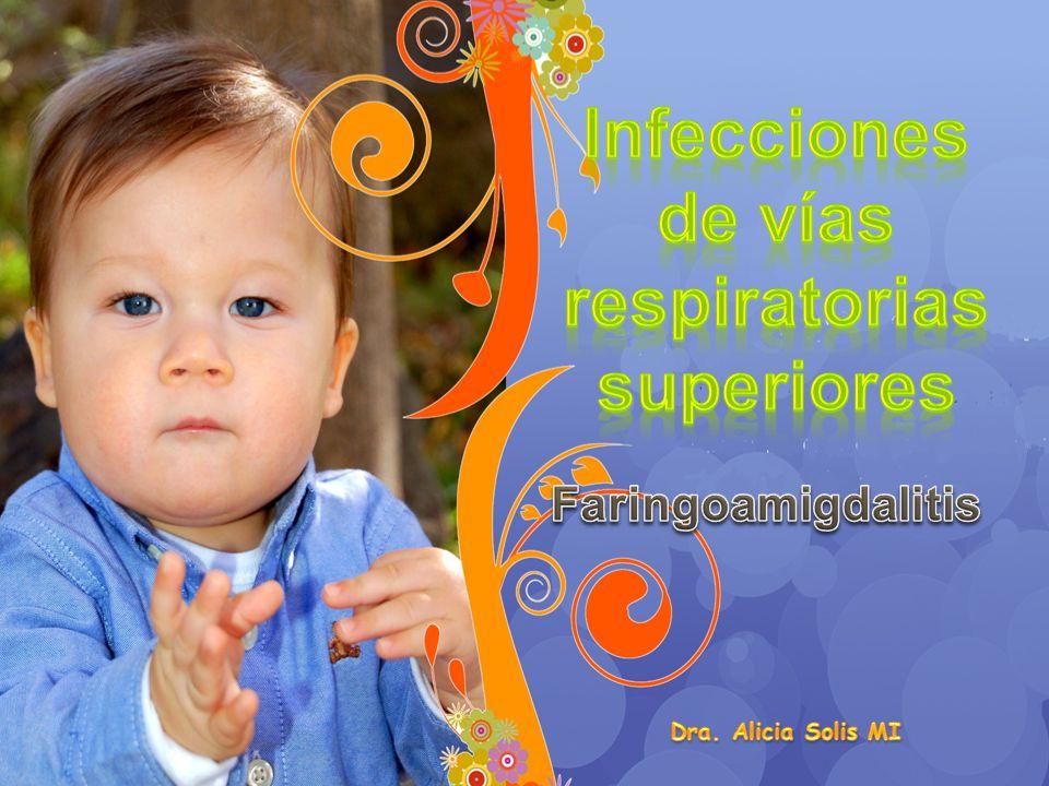 Las infecciones de las vías respiratorias son, en la edad infantil, una de las causas más frecuentes de patología infecciosa aguda y junto con el síndrome febril, los motivos más habituales de consulta.