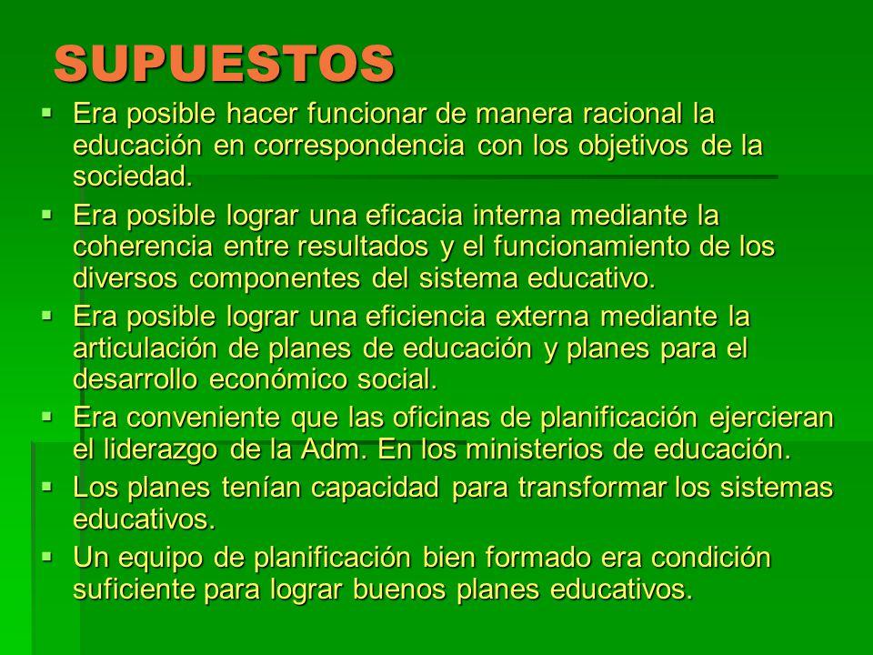 LOS NUDOS CRÍTICOS DE LA P.E.