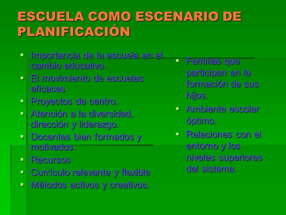 TENDENCIAS EN LA PLANIFICACIÓN DE LA EDUCACIÓN EN A.
