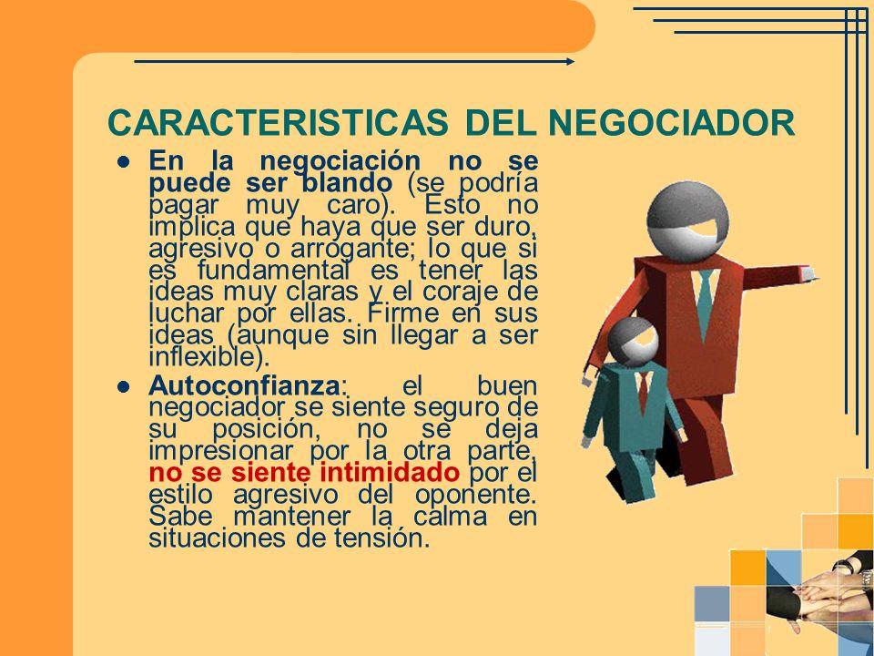 Modelos de negociación Negociación distributiva Es aquella en la cual los negociadores demuestran una débil cooperación e incluso, en casos extremos, ésta es nula.