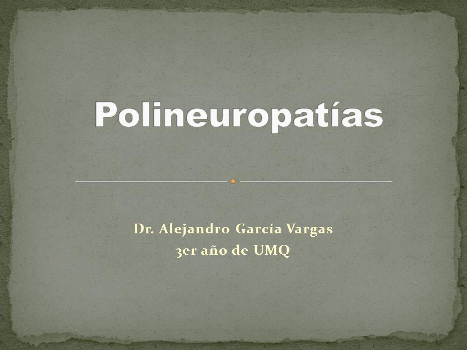 Dr. Alejandro García Vargas 3er año de UMQ