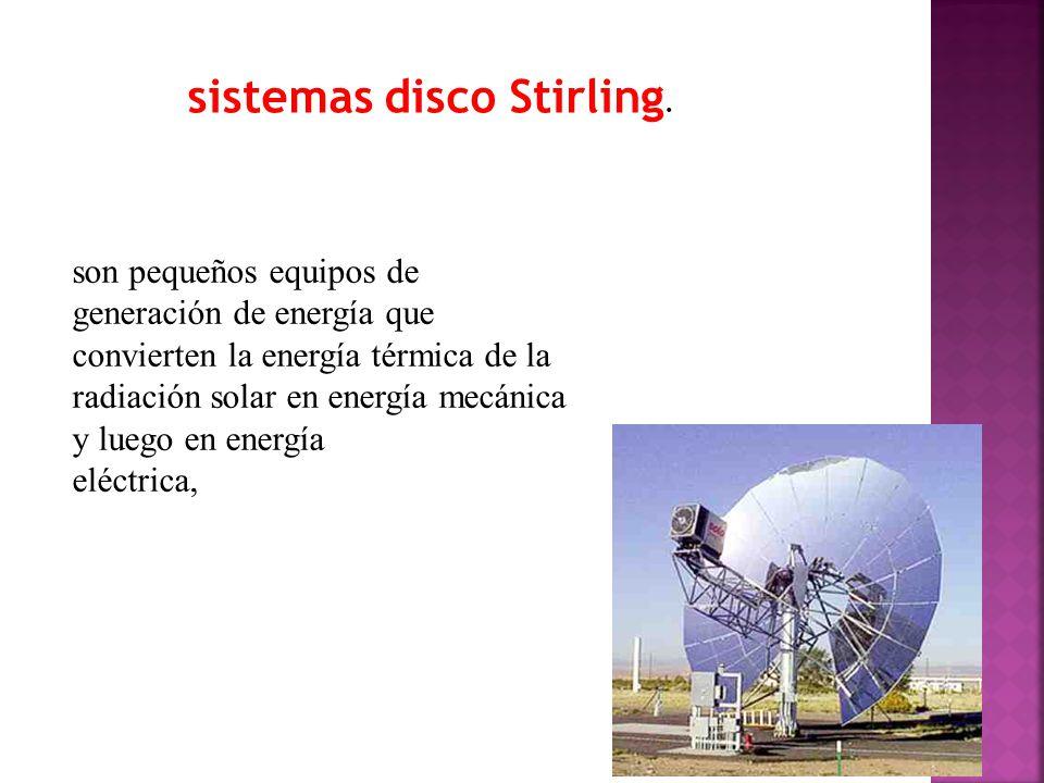 sistemas disco Stirling.