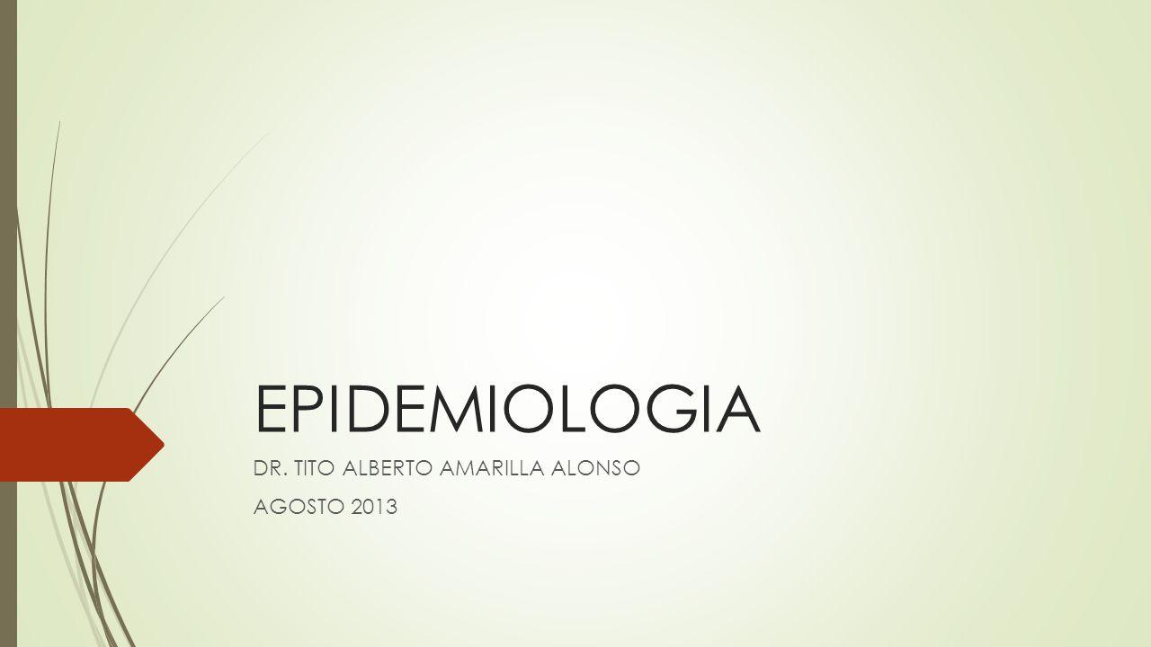 Usos de la epidemiología Historia Natural