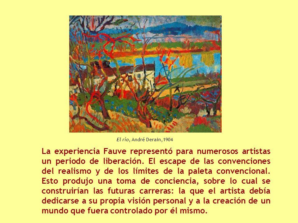 La experiencia Fauve representó para numerosos artistas un periodo de liberación.