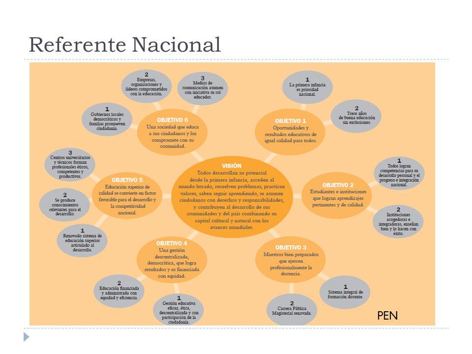 Referente Nacional PEN