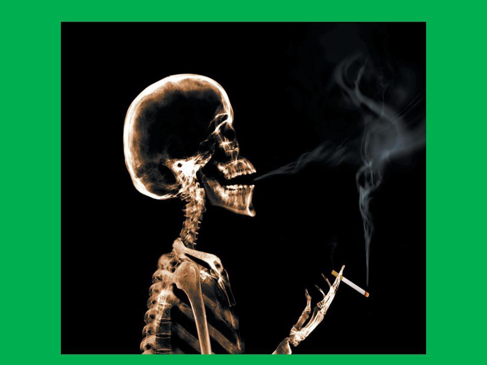 No estamos completamente seguros de las componentes del tabaco, siendo uno de los pocos productos no regulados.