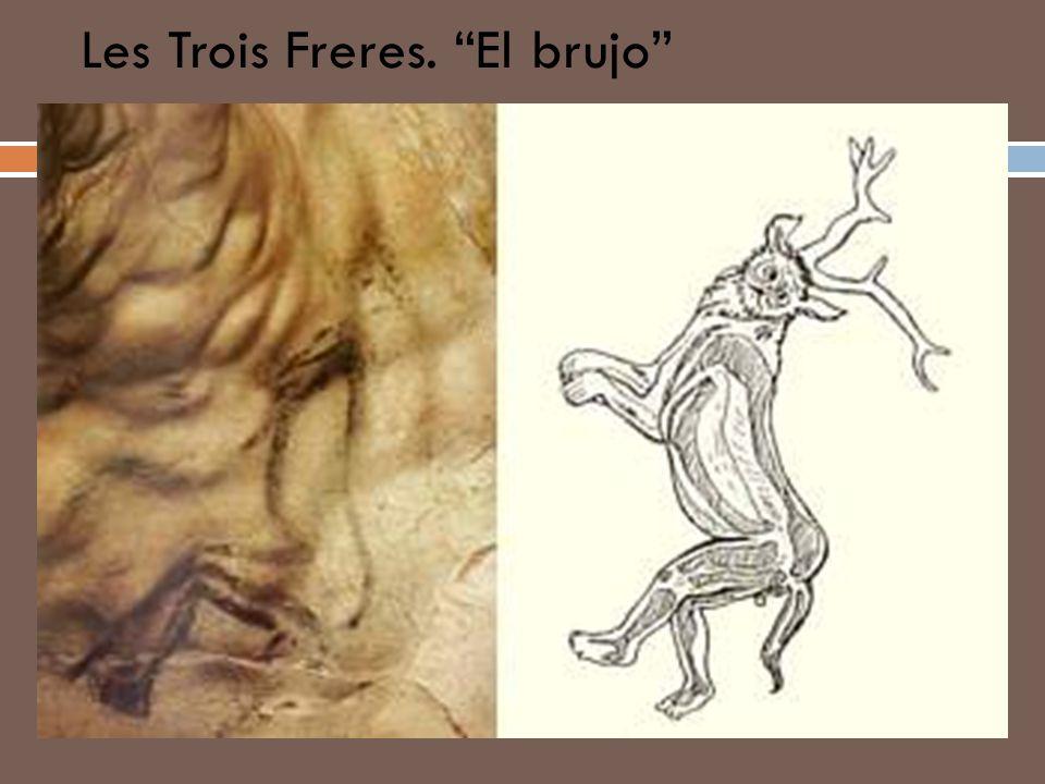 Les Trois Freres. El brujo
