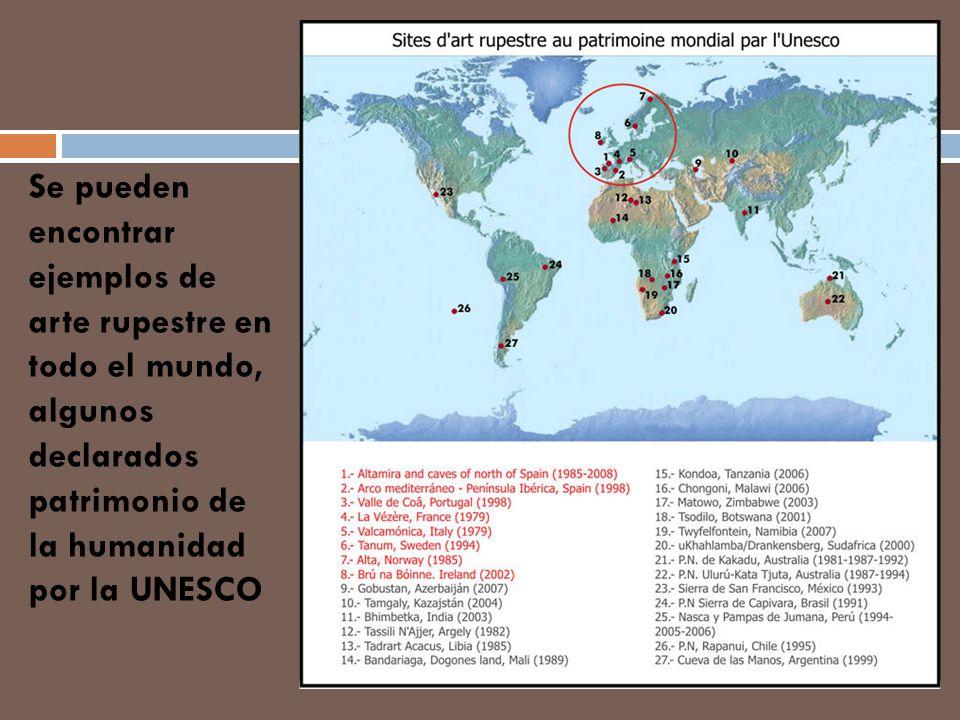 En Europa se encuentran las cuevas más importantes, sobre todo en norte de España y sur de Francia