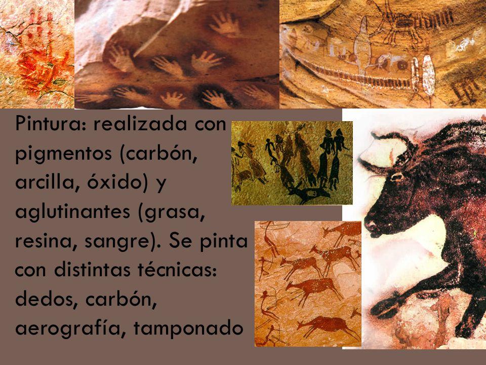 Cueva de Cogull, España Período Mesolítico.Las figuras son más esquemáticas.