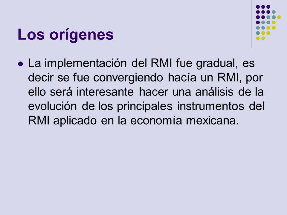 Los orígenes La implementación del RMI fue gradual, es decir se fue convergiendo hacía un RMI, por ello será interesante hacer una análisis de la evol