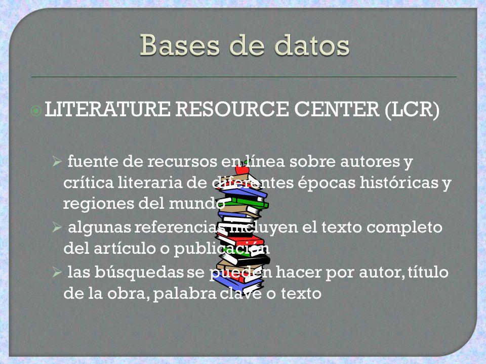 PROYECTO DE INDIZACIÓN DE PERIÓDICOS DE PUERTO RICO acceso a través de http://pciponline.comhttp://pciponline.com búsqueda por autor, título, tema, pa