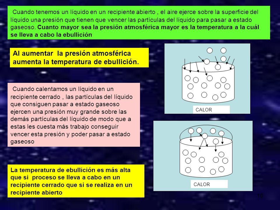 9 La temperatura a la que se produce el paso sólido líquido se llama: TEMPERATURA DE FUSÍON Punto de fusión es la temperatura al a que un sólido pasa