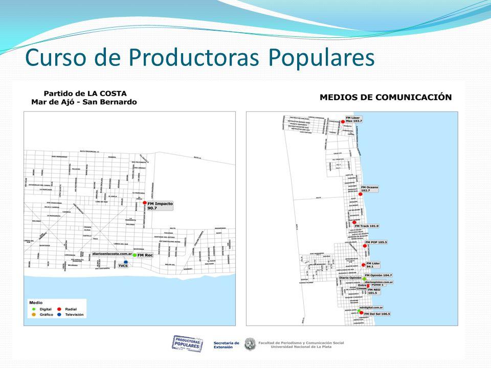 Curso de Productoras Populares