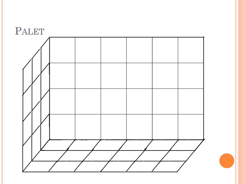 Teniendo 72 cajas por palet, es igual a 288 cajas por referencia La estantería será convencional ya que este sistema proporciona un acceso directo a cda paleta, con acceso a palet por ambos lados.