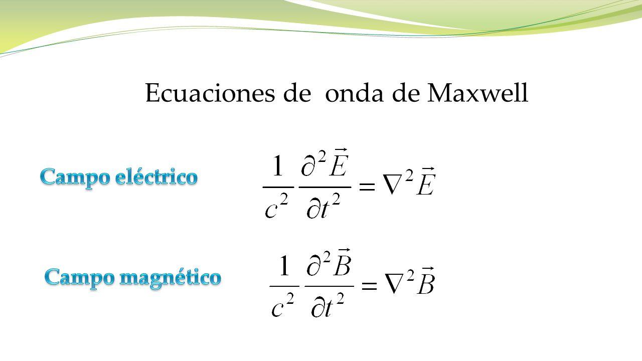 Ecuaciones de onda de Maxwell