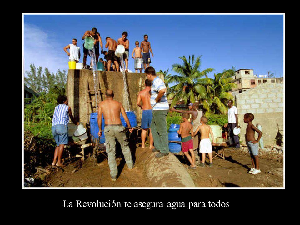 El progreso de la Revolución es evidente; irrefutable. Revolución o miseria Hasta el final