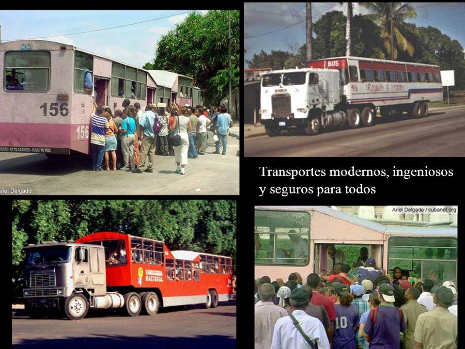 La Revolución no acepta buses de más de 20 años para garantizar la seguridad de los trabajadores y de sus hijos