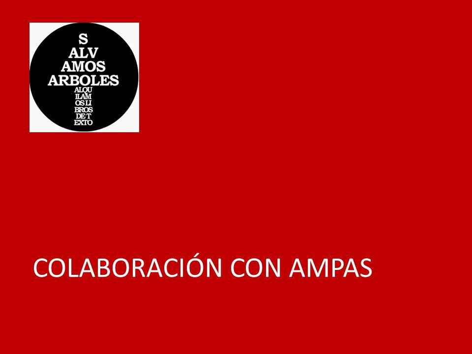 COLABORACIÓN CON AMPAS