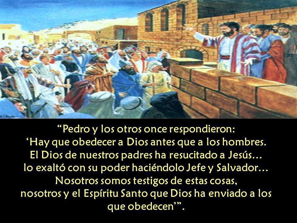 Anunciar y dar testimonio de Dios solamente es posible, si reconocemos a Jesucristo, porque es él quien nos ha llamado, nos ha invitado a recorrer su camino, nos ha elegido.