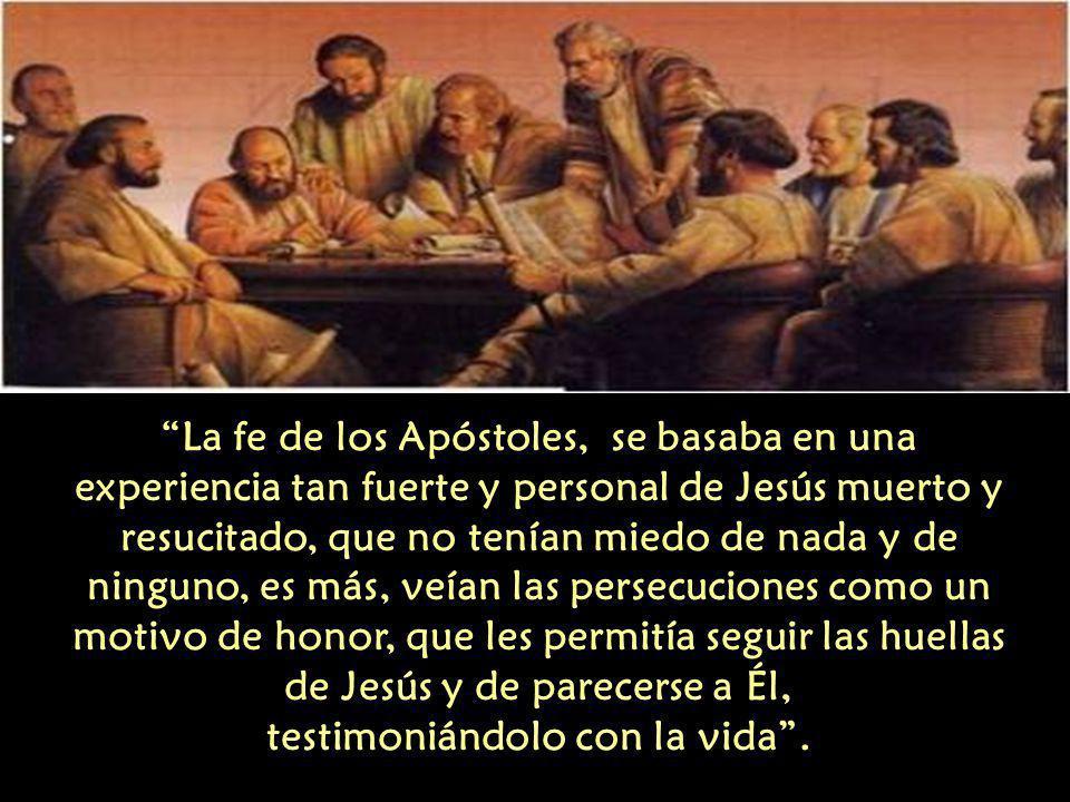 Los Apóstoles eran personas simples, no eran escribas, doctores de la ley, ni pertenecían a la clase sacerdotal.