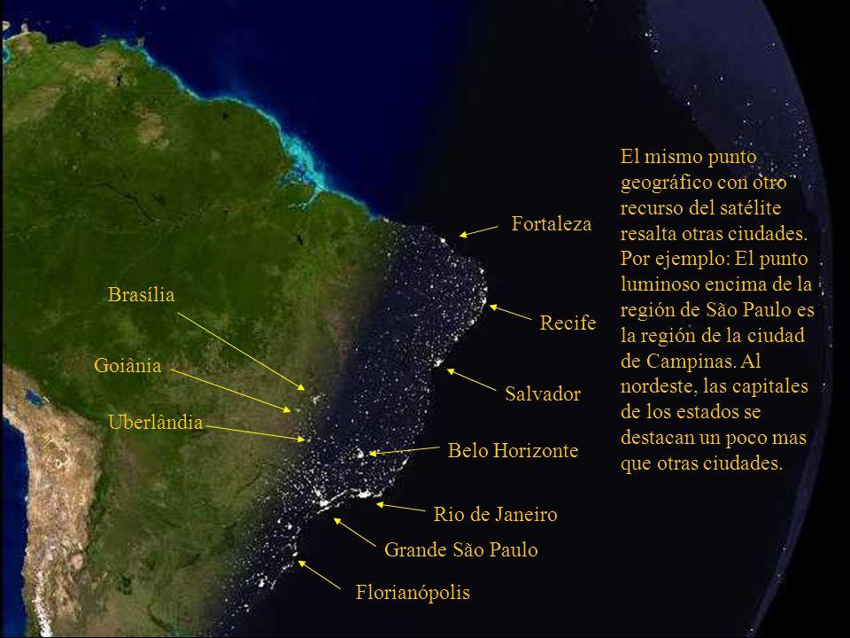 Grande São Paulo Rio de Janeiro Belo Horizonte Salvador Oceano Atlántico Esta región azul mas clara es la plataforma continental brasilera.