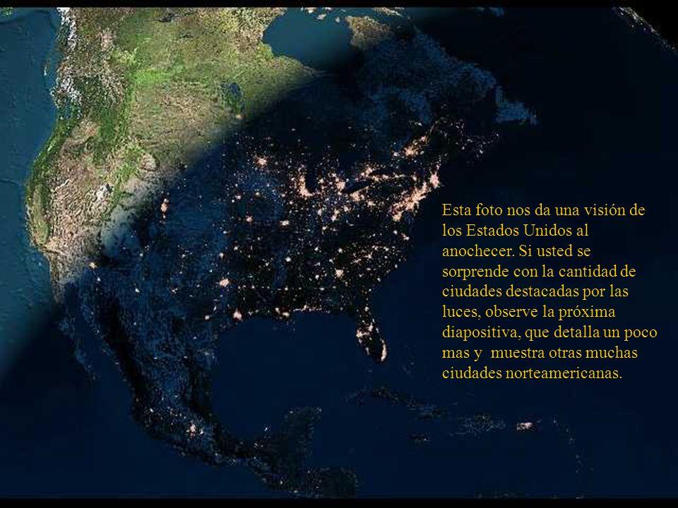 Grande São Paulo Rio de Janeiro El mismo punto geográfico con otro recurso del satélite resalta otras ciudades.