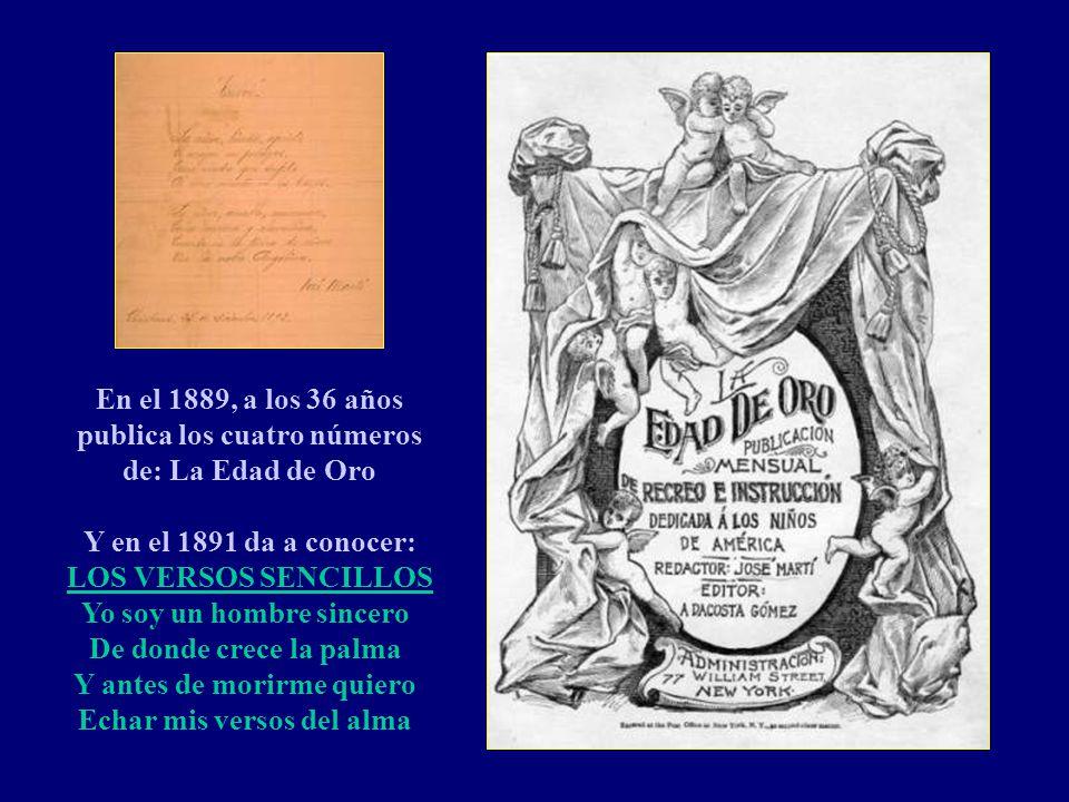 A los 25 años en el 1878, bajo la amnistía del Pacto del Zanjón, José Martí regresa a Cuba, siendo deportado un año después por conspirar contra el go