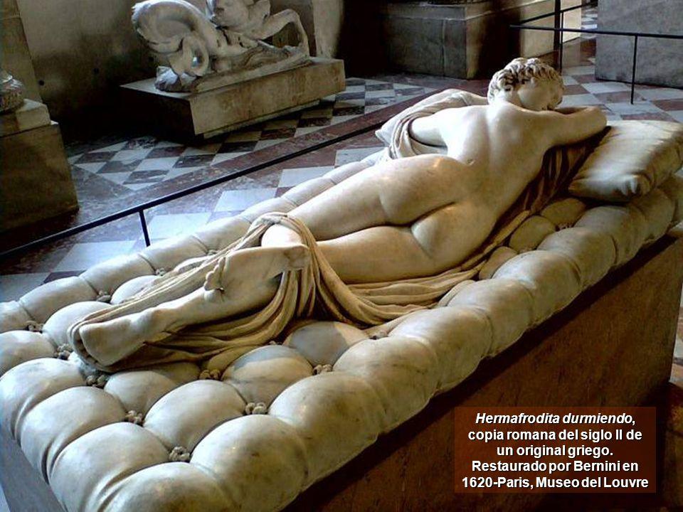 Hermafrodita durmiendo, copia romana del siglo II de un original griego.
