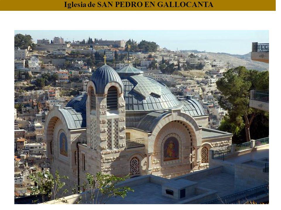 Basílica de Santa Ana: según la tradición aquí nació la Virgen María.
