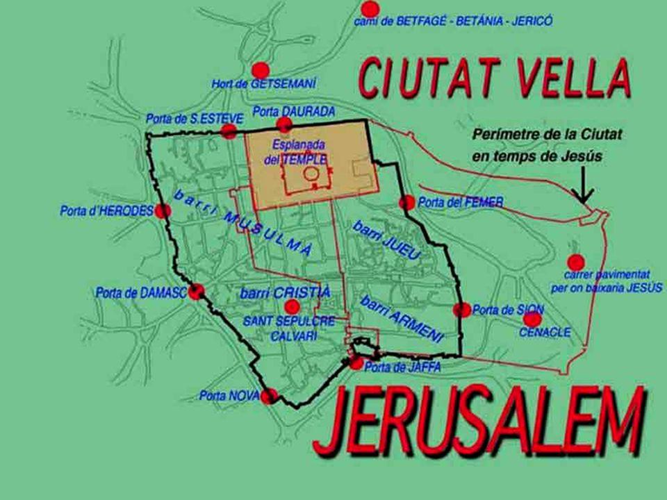 Jerusalén vista desde el monte de los olivos