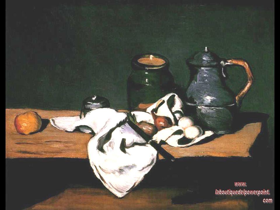 Cézanne está considerado como el padre del arte moderno. En su pintura intentó sintetizar la representación naturalista, la expresión personal y el or