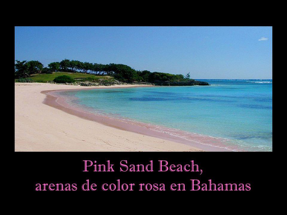 Las playas de arena dorada son un tópico asociado al paraíso terrenal.