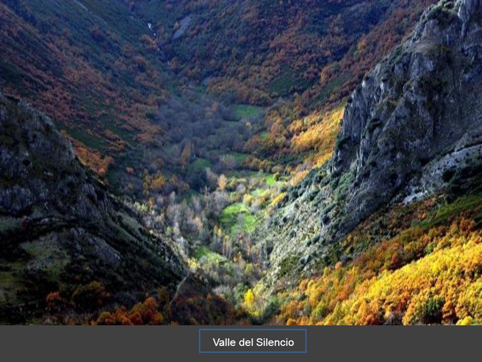 Vista de Peñalba de Santiago desde la Cueva