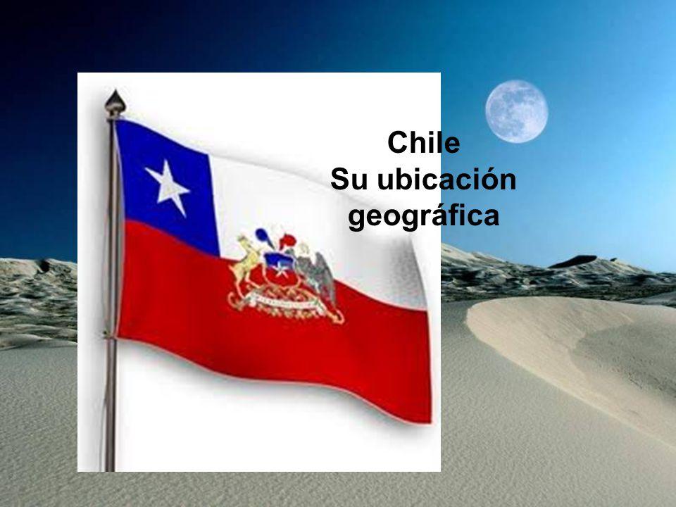 Chile Su ubicación geográfica